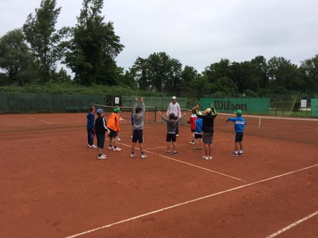 Tenniscamp Juli 2015