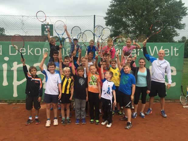 Tenniscamp August 2015