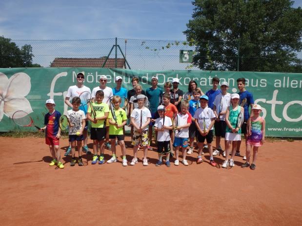 Kinder-Tenniscamp August 2016